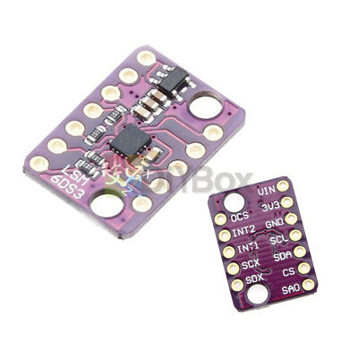 Lsm6ds3 Iicspi 3 Axis 6 Degrees Of Freedom Tilt Breakout Transmission  Module