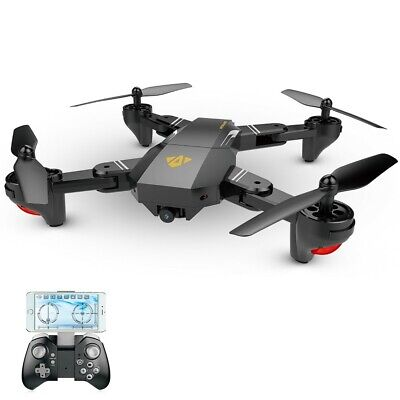 VISUO XS809HW Selfie Drone WIFI FPV RC Quadcopter Fly More RTF From USA
