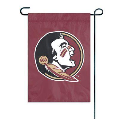 Florida State Seminoles Embroidered Garden Flag Window Flag NEW USA (Garden State Usa)