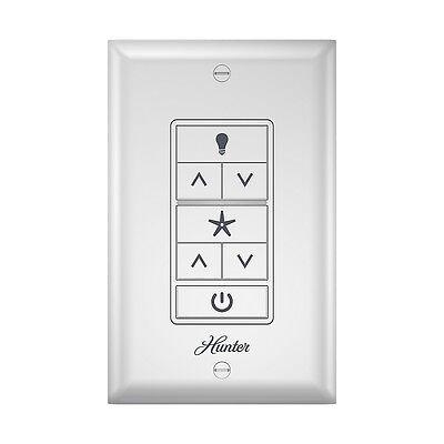 HUNTER Ceiling Fan & Light Wall Control with Wireless Reccei