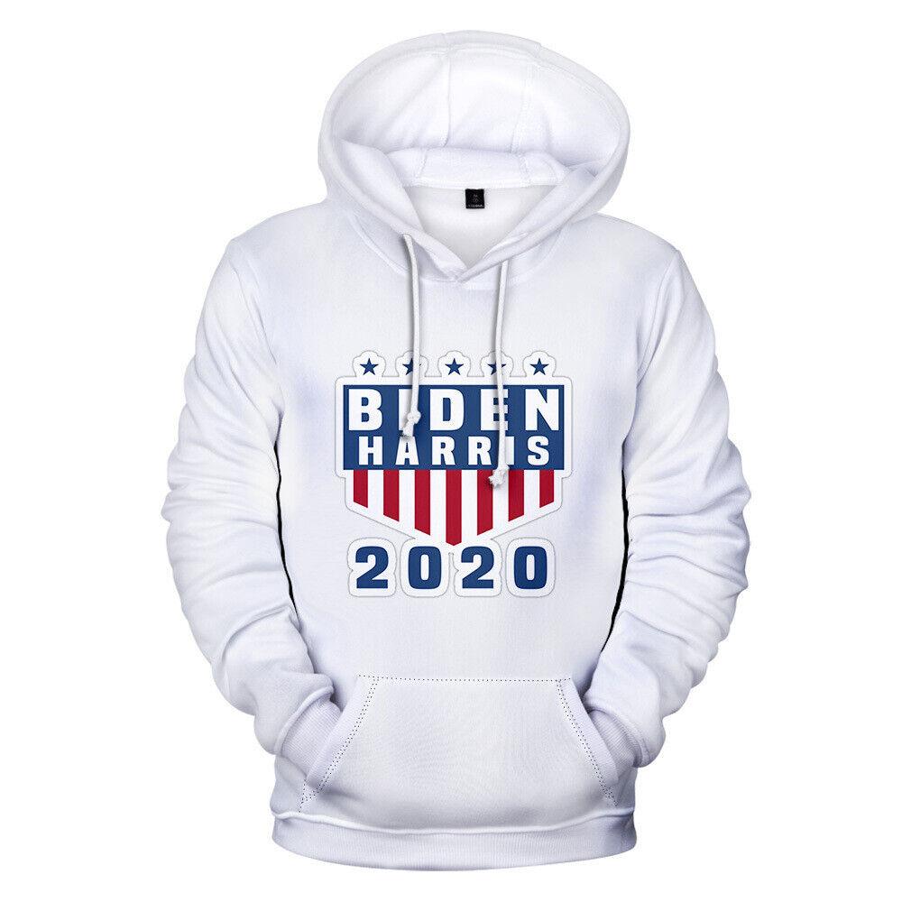 Joe Biden Kamal Harris 2020 President Campaign Hoodie Sweatshirt Sweater Jumper Activewear