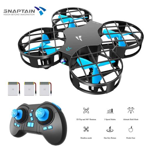 SNAPTAIN H823H Mini Drohne für Kinder Anfänger RC Quadrocopter Drone Mit 3 Akkus