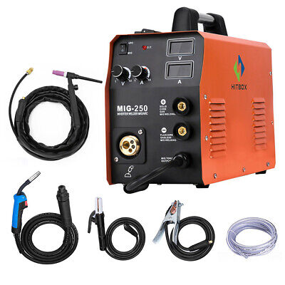 Hitbox Mig Welder Igbt Inverter Flux Core Wire Gaslessgas 4in1 Welding Machine