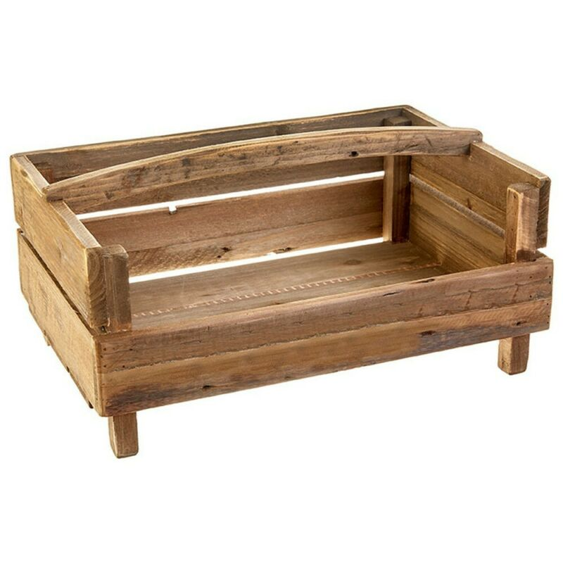 Raz Imports Farm To Table 19-inch Handled Crate