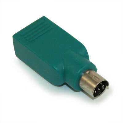 USB  Replacement USB Mouse to PS/2 Adapter for Microsoft and Logitech for sale  Shipping to India