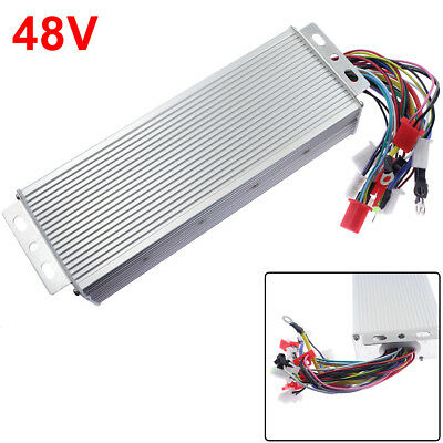 1x 48v 1500w Electric Bicycle E-bike Scooter Brushless Dc Motor Speed Controller