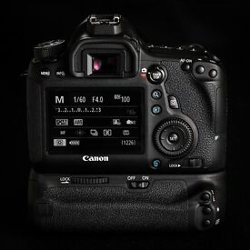 Canon 6d with BG and two lenses