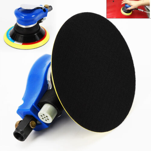 """90PSI Copper 6"""" Air Palm Sander Tool for Auto Shops Woodwork"""