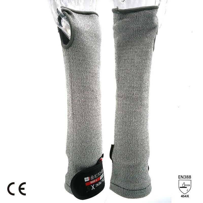 SAFETY-INXS Work Safety Arm Guard Sleeve Level 5 Anti-cutting 13 Gauge 45cm