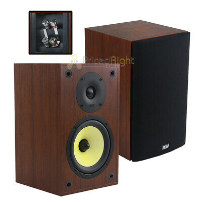 """2 Pack 6.5"""" Bookshelf Home Theater Speakers 100W RMS TP160S-"""