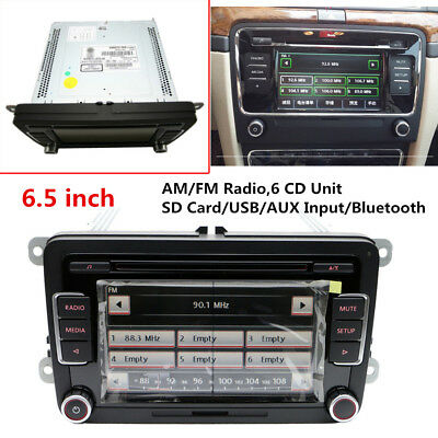 "6.5"" RCD510USB Radio 6 Disc CD MP3 Player Fit for Volkswagen Golf Passat Jetta for sale  China"