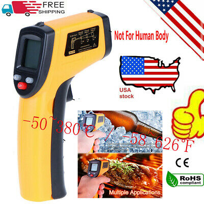 Ir Digital Thermometer Infrared Handheld Temperature Gun Non-contact Laser Point