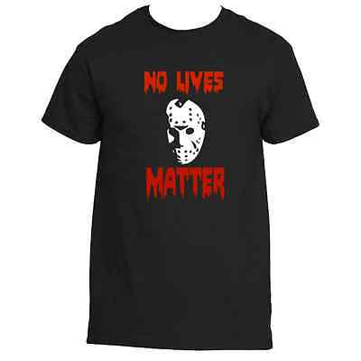 Friday The 13th Jason Voorhees No Lives Matter Halloween  Tee shirt