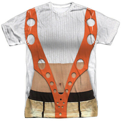 Authentic The Fifth Element Leeloo Costume Outfit Sublimation ALL Front T-shirt