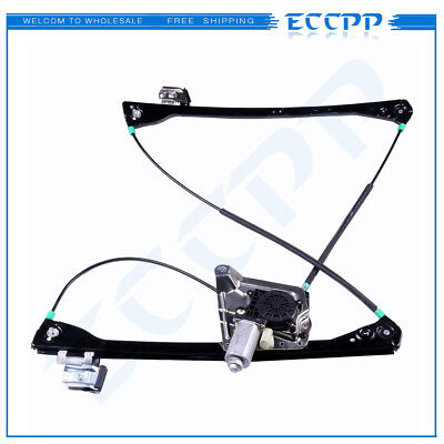 Power Window Regulator With Motor for Buick Rendezvous Pontiac Front Driver Side ()