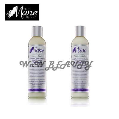 - Mane Choice Heavenly Halo Herbal Hair Tonic & Soy Milk Shampoo & Conditioner Set