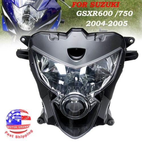 Headlight Assembly Headlamp Light For Suzuki GSXR600/750 2004-2005 K4 Motorcycle