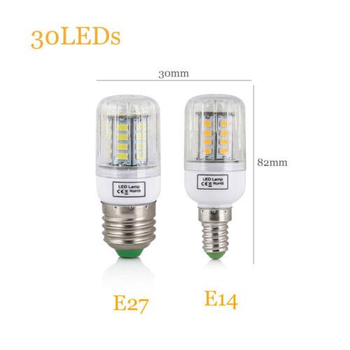 LED Corn Bulb E27 E14 Light 5730 SMD 7W 12W 15W 20W 25W 45W White Lamp 220V 110V