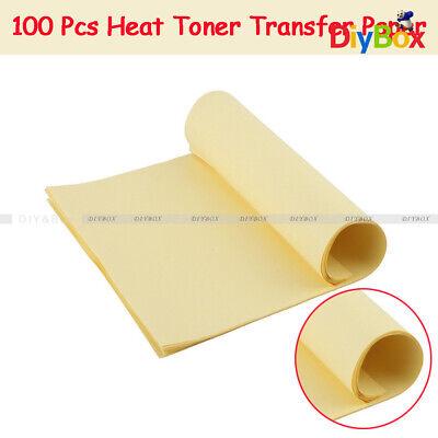 100x A4 Sheets Heat Toner Transfer Paper For Diy Pcb Electronic Prototype Mak