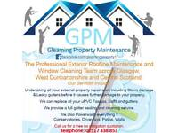 Window cleaner/gutter cleaning/pressure washing/drain cleaning