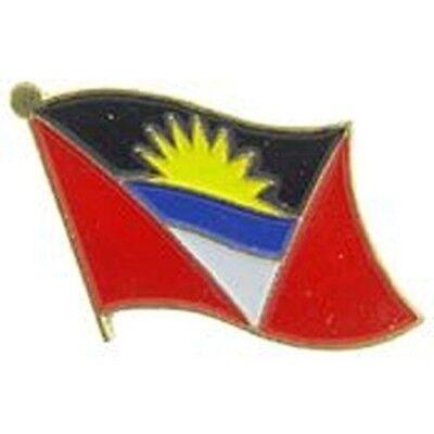 Antigua Barbuda Country Flag Bike Motorcycle Hat Cap lapel Pin (Antigua Flag)