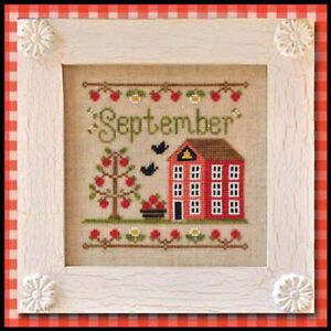 Country Cottage Needleworks Counted Cross Stitch Cottage of the Month