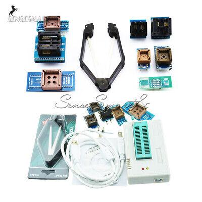 Tl866ii Plus Programmer Tl866 Usb Eprom Eeprom 7 Adapters Socket Extractor