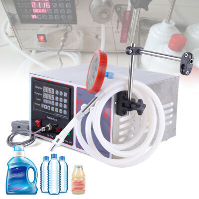 Electric Liquid Filling Machine Digital Cosmetic Cream Shampoo Filler 17lmin Us