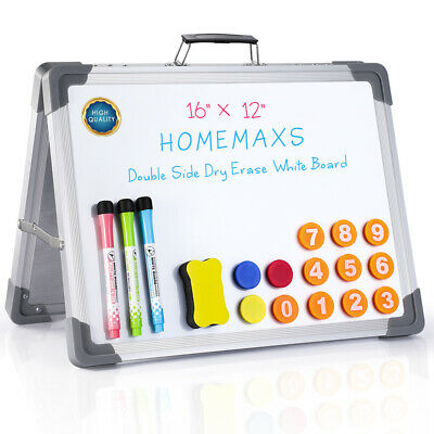 Magnetic Whiteboard 16 X 12 Inch Dry Erase White Board Wall Hanging Board A-type