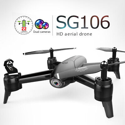 SG106 Drone Wifi GPS FPV 4K Camera Foldable RC Quadcopter Altitude hold USA X4T7