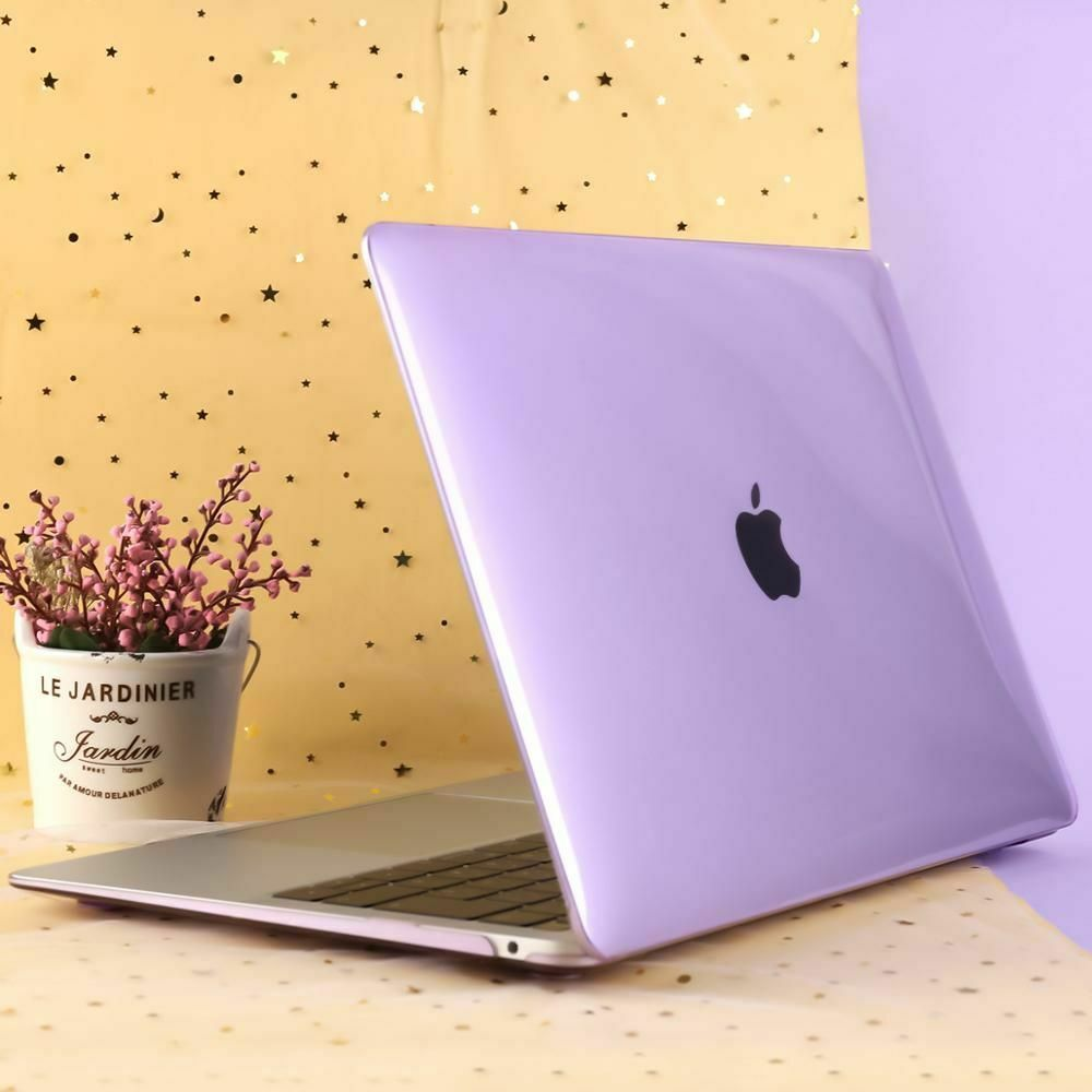 Purple Violet Floral Spring Hard Cover Case Macbook Pro Retina Air 11 12 13 15