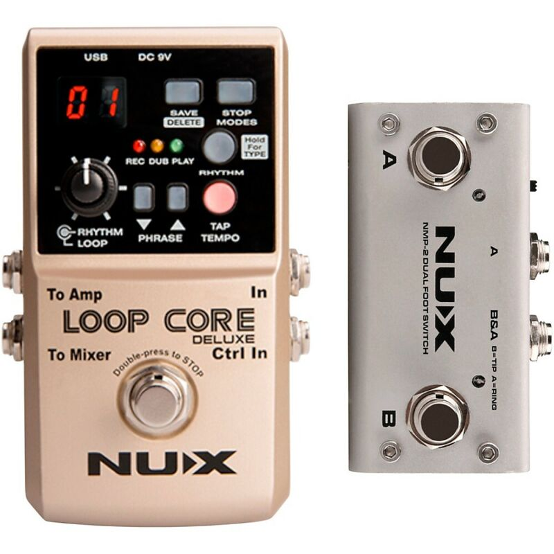 NUX Loop Core Deluxe Looper Pedal