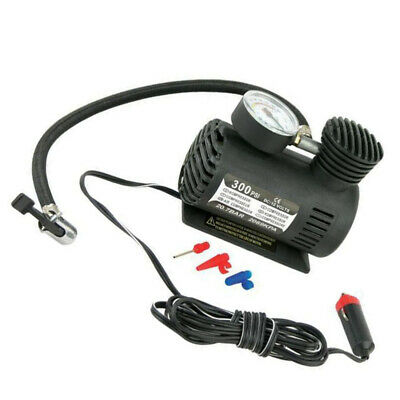 300PSI 12V Heavy Duty Portable Air Compressor Car Tyre Auto Tire Inflator Pump
