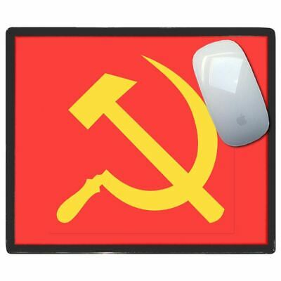 Soviet Union Flag - Thin Pictoral Plastic Mouse Pad Mat Badgebeast