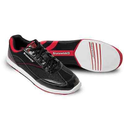 Mens Brunswick TITAN Bowling Shoes Color Black & Red  Size 8