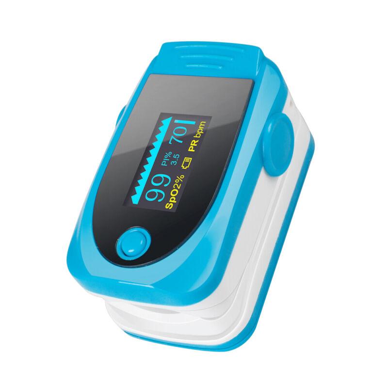 US Stock Fingertip Pulse Oximeter Blood Oxygen Saturation Finger PR SPO2 Monitor