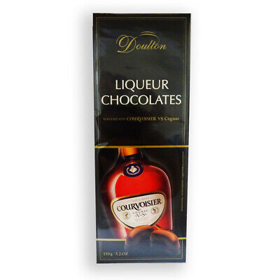 Courvoisier Vs Cognac - DOULTON LIQUEUR CHOCOLATES with COURVOISIER Vs COGNAC 150g Product of Germany