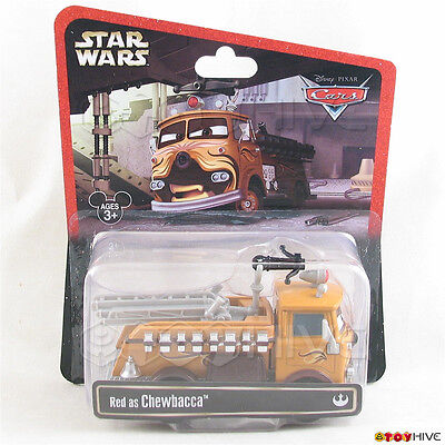 Disney Pixar Cars Red as Chewbacca Star Wars theme park exclusive Weekends worn