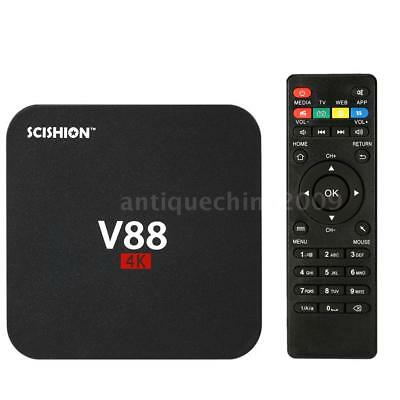 V88 Android 6 0 Smart Tv Box 4K Latest Rk3229 Quad Core 8Gb Hd 1080P Wifi Media