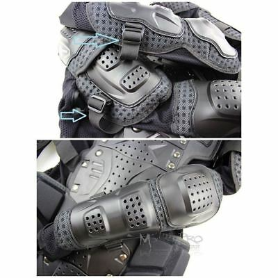 MX Motocross Youth Pressure Suit Body Armour Off-road Dirt Bike BMX Junior kid