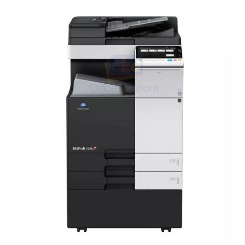 Konica Minolta Bizhub C258 A3 Color Laser Copier Printer Scanner Mfp 25ppm C368