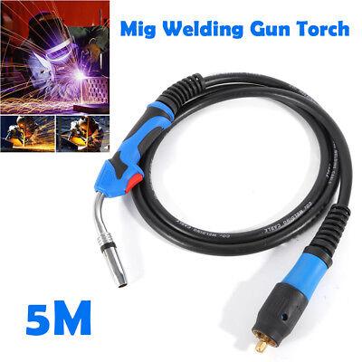 16.5 Mig Welding Gun Torch Stinger Parts Welder Welding Gun Euro Connector 5m