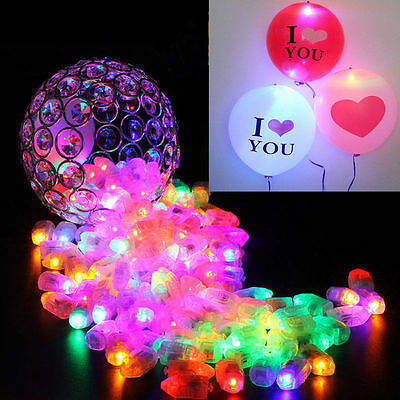 50Pcs Waterproof LED Light For Paper Lantern Ballon Wedding Party Decoration New - Lanterns For Party Decorations