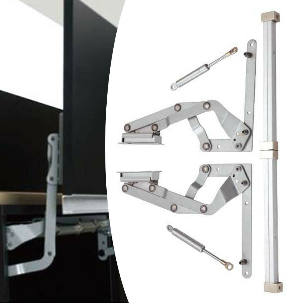 Kitchen Cabinet Door Vertical Swing Lift Up Stay Pneumatic Arm Mechanism Hinges Ebay