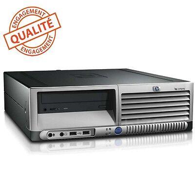 HP dc7700 SFF 3,2 GHZ 2GO 80GO Chipset 965Q Express ET090AV Windows XP Pro SP3 ()