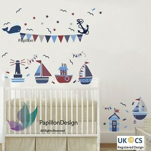 Boat Wall Stickers EBay - Decals for boats uk