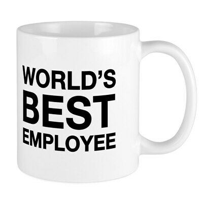 CafePress WORLDS BEST EMPLOYEE MUG 11 oz Ceramic Mug