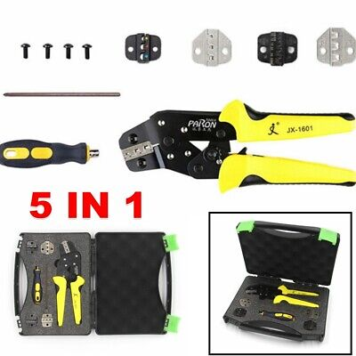Self Adjustable Insulated Wire Crimping Terminals Connector Crimper Tool Kit Usa