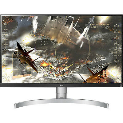 "LG 27"" 4K HDR IPS Monitor 3840 x 2160 16:9 27UK650W"