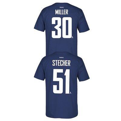 Vancouver Canucks NHL Reebok Player Name & Number Premier Jersey T-Shirt Men's Vancouver Canucks T-shirts